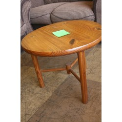 Rounded Pine Coffee Table