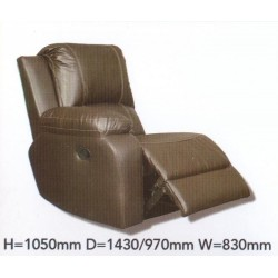 LHF Recliner Suede / Material