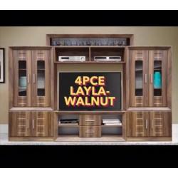 Layla 4pce Wall Unit