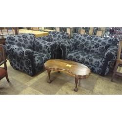 2nd-hand Dark Lounge Suite