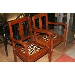 Riempie Chair Set