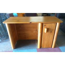 Pine desk + door