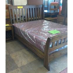 Queen Sleigh Bed Base