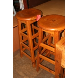 Pine Bar Chairs