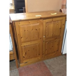 Oregon Pine Grocery Cabinet