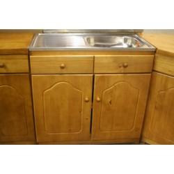 Pine Single Sink